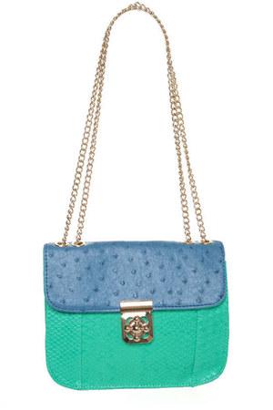 periwinkle LuLus purse