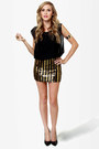 Gold LuLus Dresses