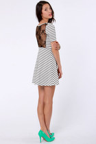 white LuLus dress