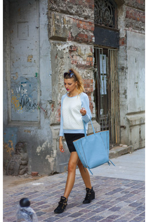 sky blue baby blue PresKA jumper - sky blue xxl etorbapl bag