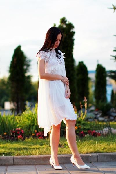 Zara shoes - Chicwish dress - diva bracelet