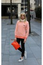 Tawny-oasap-jacket-carrot-orange-clutch-pauls-boutique-bag