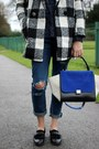 6ks-coat-6ks-jeans-trapeze-bag-celine-bag-monk-shoe-bertie-loafers