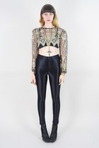 beige Lush Love Lita top - black zoe harness sam edelman boots