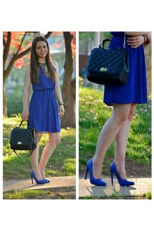 Marshalls dress - Forever 21 purse - DSW heels