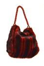 Ruby-red-faux-fur-lanzetti-lexiapel-purse