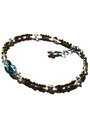 Dark-brown-beaded-crystal-budget-luxuries-bracelet