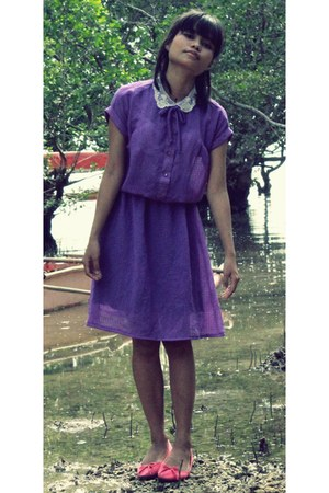 amethyst LycaByDesignPH dress - hot pink doll unknown flats