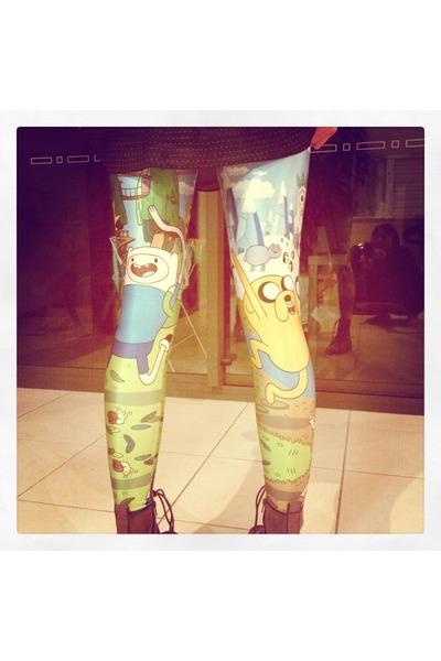 blue BlackMilk leggings