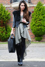 Black-topshop-shoes-silver-love-lable-dress-black-topshop-jacket