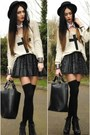 Black-h-m-hat-black-romwe-bag-black-primark-skirt
