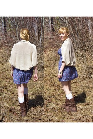Rocketdog boots - Lovely Girl dress - Only sweater - H&M socks