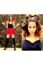 Vintage-cardigan-agatha-top-renner-skirt