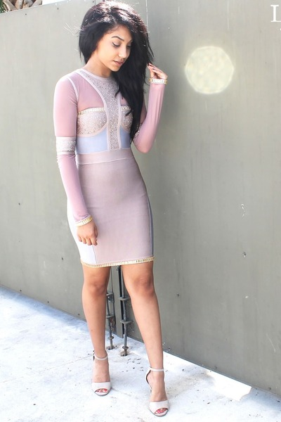 periwinkle Top Glam dress