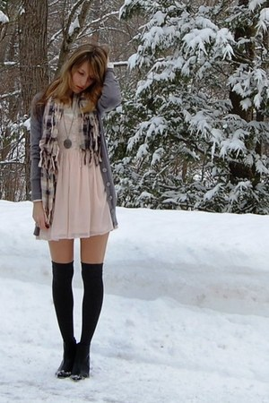 H&M shoes - H&M dress - Forever 21 cardigan