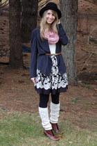 JCrew jacket - Urban Outfitters skirt - Topshop belt - seychelles boots - Urban