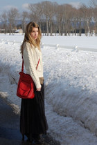 Forever 21 sweater - Forever 21 sweater - Urban Outfitters bag - vintage blouse