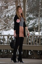 Urban Outfitters boots - Gap shirt - kate spade purse - lulus skirt - TJ Maxx ca