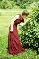 brick red Edressy dress