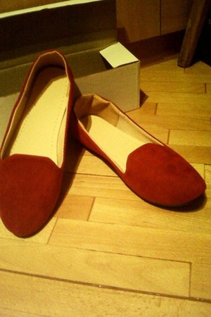 ruby red no name flats