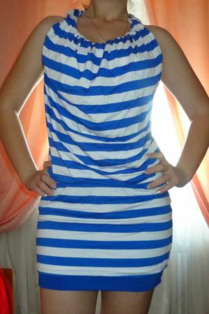 blue shara dress - blue shara skirt