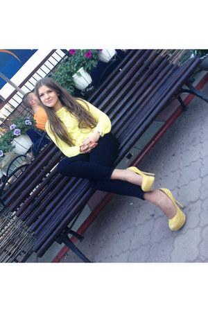 asos shoes - Zara pants