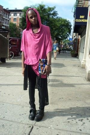 bubble gum Oak nycDIY shirt
