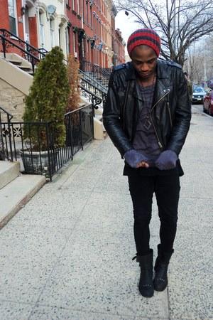 black Topman jacket