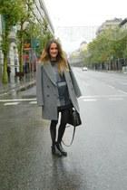 Zara coat - Deichmann boots - alexandre nedderman jumper