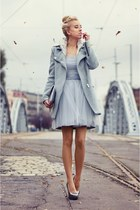 silver sukienkowo dress