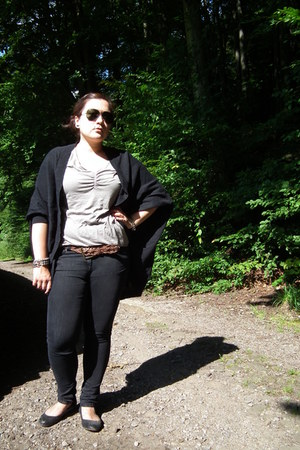 edc by Esprit cardigan - Debenhams jeans - Ray Ban sunglasses - Gap top