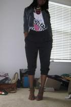 H&M pants - H&M jacket - Nine West shoes