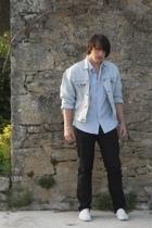 jacket - skirt - pants - shoes