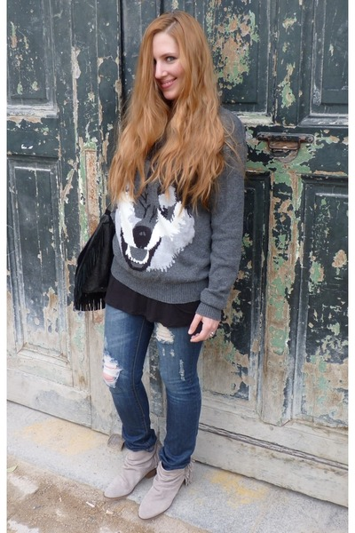 Jeans Wolf H&m Sweater