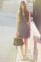 Oysho dress - Stradivarius bag - pull&bear sandals