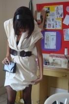 Maarji dress - belt - purse - lupo stockings - accessories