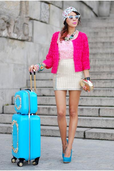 pink Sheinside blazer