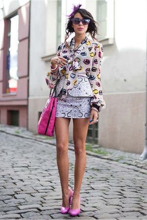 Primark blouse - Love Moschino bag - Beginning Boutigue skirt