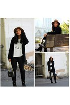 black Shoedazzle boots - black skinny jeans asos jeans