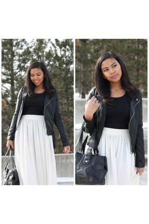 white maxi skirt American Apparel skirt