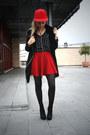 Bata-boots-mango-coat-h-m-t-shirt-bershka-skirt