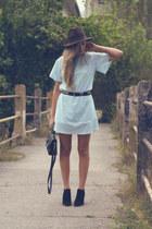 Zara boots - Confused dress - Zara hat