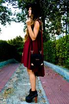 Jeffrey Campbell shoes - asos dress - Alexander Wang bag