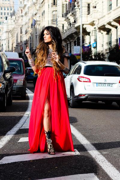 Mango dress - Zara top