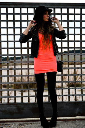 Bershka dress - Jeffrey Campbell shoes