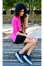 Romwe-shoes-zara-blazer-h-m-skirt