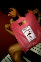 Madame Flamingo's Shopping Bag