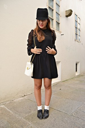 Primark dress - Zara hat - pull&bear bag