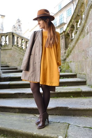 H&M dress - Sfera hat - pull&bear blazer