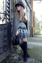 Zara blazer - pull&bear dress - H&M hat